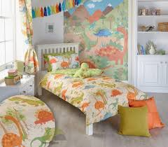 fantasy dinosaur toddler bedding