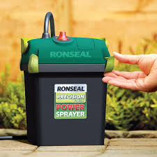 Ronseal Precision Power Paint Sprayer Battery Operated Cordless Garden