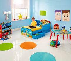 Toy Story Toddler Bed With Underbed Storage By Hellohome
