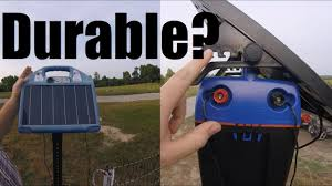 Premier One Electric Fencing One Year Review Old Vs New Solar Energizers Gates Youtube