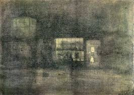 James Mcneill Whistler Nocturne Black And Gold Wall Decal Contemporary Wall Decals By Art Megamart