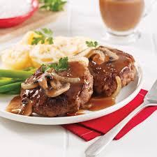 hamburger steak aux oignons 5