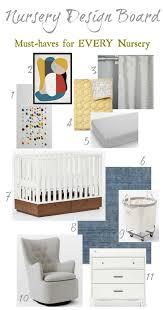 Kids Bedroom Design Boards And Nursery Must Haves Nesting With Grace Nursery Design Board Kids Bedroom Design Baby Nursery Design