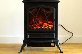 fine elements 200w stove effect heater