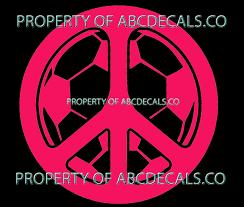 Vrs Peace Sign Namaste Antiwar Love Car Decal Vinyl Sticker