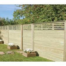 Canterbury Combi Slatted Garden Gate Garden Gates Garden Fence Panels Outdoor Gardens Design