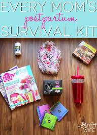 postpartum survival kit with u by kotex