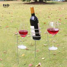 chamsgend wine glass bottle holder