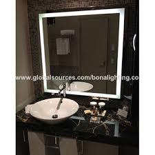 china ip44 led backlit bathroom mirror