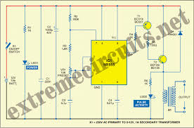 Electric Window Fence Charger Circuit Diagram