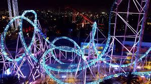hangtime drop coaster pov ridecam at