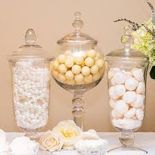 large glass apothecary jar for candy