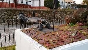 Destrozan el monumento al minero de Tharsis | Huelva24, la ...