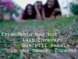 friendship quotes memories quotes