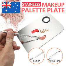 stainless steel makeup cosmetic palette