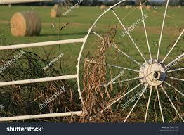 Wagon Wheel Fence Stock Photo Edit Now 5962708
