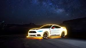 ford mustang night live wallpaper