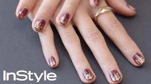perfect holiday nails diy instyle