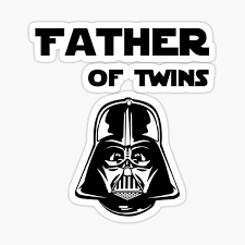 Dad Of Twins Stickers Redbubble