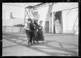 Left to right: Charlie Chaplin, Anne Sullivan, Helen Keller and ...