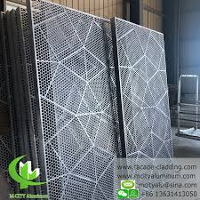 Metal Panel Solid Aluminum Panel Curtain Wall For Facade Cladding Durable External Use For Sale Perforated Aluminum Facade Manufacturer From China 109771551