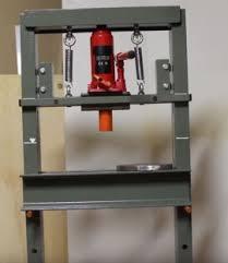 homemade hydraulic press brake