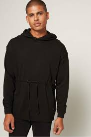 Shop Black Only & Sons Wesley Long Sleeve Hoodie for Men | NISNASS Oman