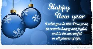 happy new year wish quote