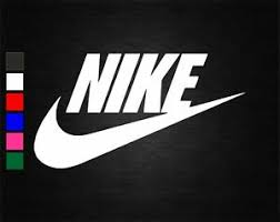 Nike Logo Vinyl Decal Sticker Crafts Car Van Wall Door Laptop Tablet Window Ebay
