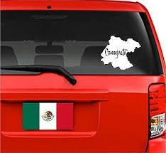 Decals Stickers Mexico Mapa Guanajuato Jeyfel