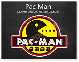 Ghost Pac Man Logo Sticker 3m Vinyl Decal Car Luggage Skateboard Guitar Laptop Ebay