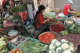 pasar tradisional cermin ekonomi kerakyatan koran sindo sumber