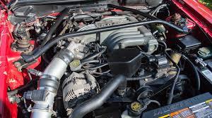 pushrod v8 mustang engine