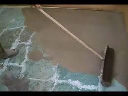 concrete suloor preparation leveling
