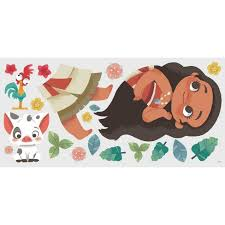 Vintage Moana Peel And Stick Giant Wall Decal Target