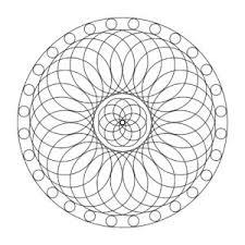 Mandala Kleurplaat 1 Mandalashop Droomcreaties