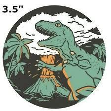 Jurassic World Park Chris Pratt Velociraptor Dinosoar Sticker Decal Car Laptop