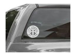 82nd Airborne Division Roundel Vinyl Window Decal Sticker Us Army All American Ebay