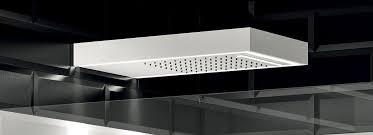 wall mounted shower head rectangular