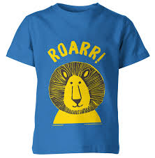 ROARR! - Hand Printed Kids T-Shirt | DESIGNSMITH