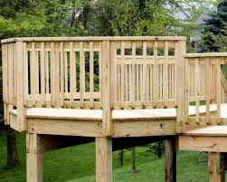 deck railing height for kids saver