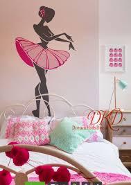 Ballerina Wall Decal Dance Wall Decal Dance Wall Sticker Dk288 Girls Room Wall Art Dancer Decal Dance Theme