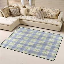 Amazon Com Area Rug Checkered For Kids Playroom Classical Celtic Tile 4 X 6 Rectangle Kitchen Dining