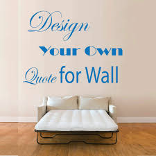 quotes vinyl wall art make your own quote mural stickers