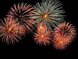 bonfire night firework displays in