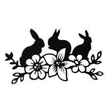 2020 16 9cm Rabbit Flower Vinyl Sticker Decal Cute And Interesting Fashion Sticker Decals Vinyl Sticker From Xymy787 4 63 Dhgate Com