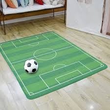 Kids Rug Boys Children S Play Football Pitch Green Rug Kids Living Room Carpet Play Carpet Kids Rugs Boy Girl Play Mat Wish
