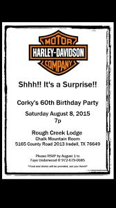 Harley Davidson Birthday Invitations Invitaciones De Cumpleanos