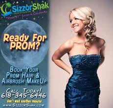 booked your appointment for prom
