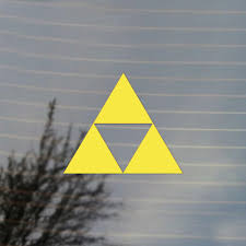 Gaming Triangle Vinyl Decal Sticker Free Us Shipping For Car Laptop Tablets Etc